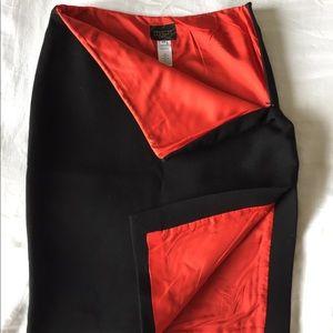 Christian Lacroix black skirt size 38 (size 2-4)